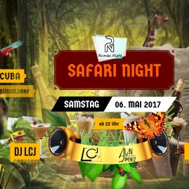 SAFARI NIGHT 06.05.2017