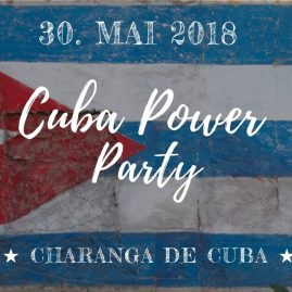 CUBA POWER PARTY 30.05.2018
