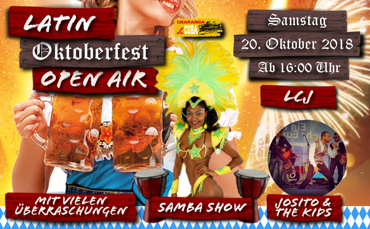 LATIN OKTOBERFEST - OPEN AIR